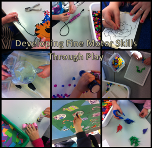 Fine motor night activities